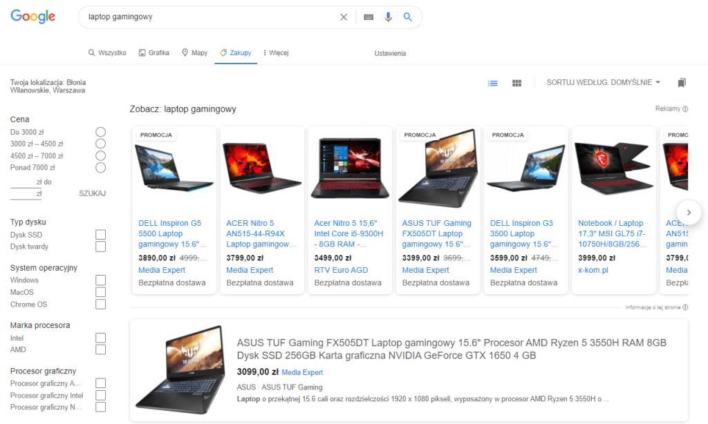 google-zakupy